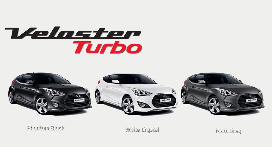 Veloster Turbo SE colours