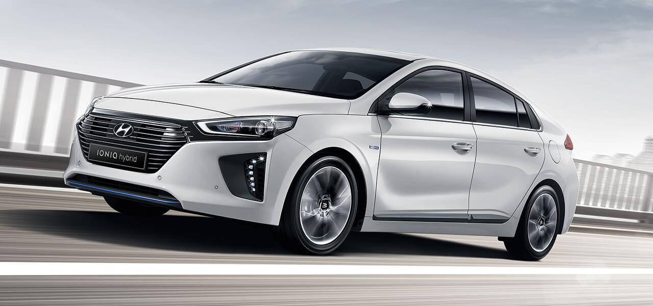 Hyundai IONIQ – Front view