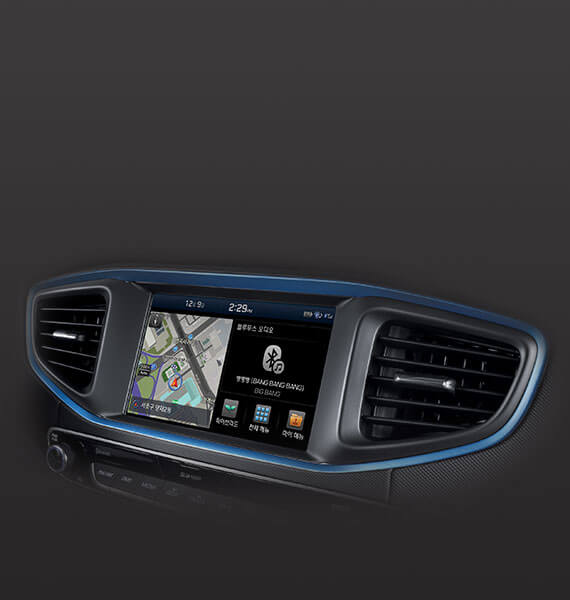 Hyundai IONIQ navigation system