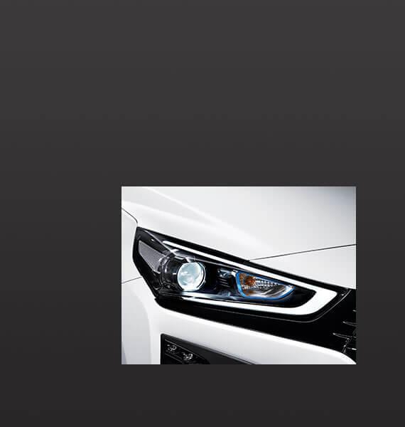 Hyundai IONIQ front light