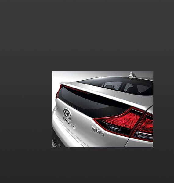 Hyundai IONIQ rear view